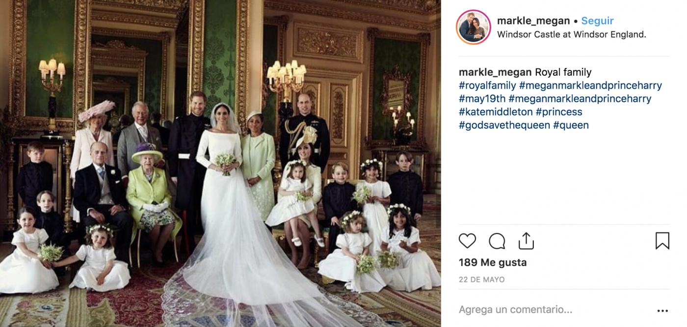 vestido de novia meghan