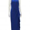vestido de fiesta azul rey Ralph Lauren