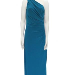 vestido de fiesta estilo griego drapeado