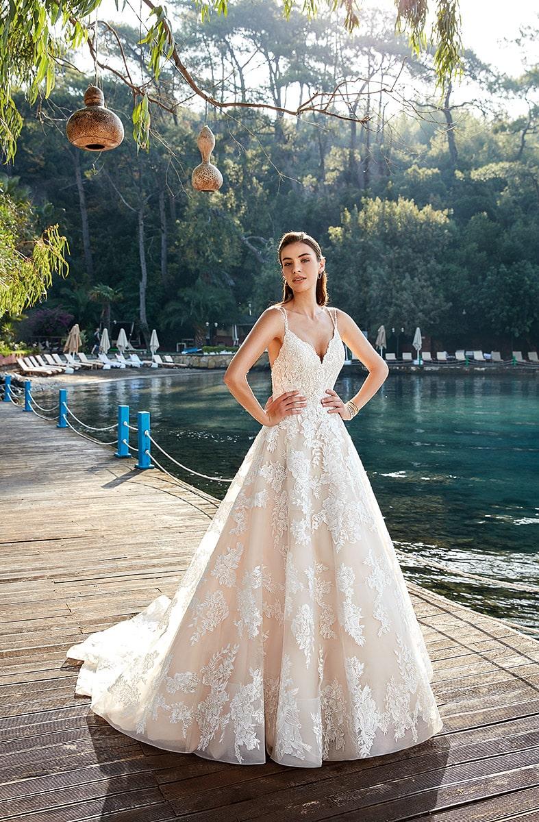 Vestido de novia marca eddy k