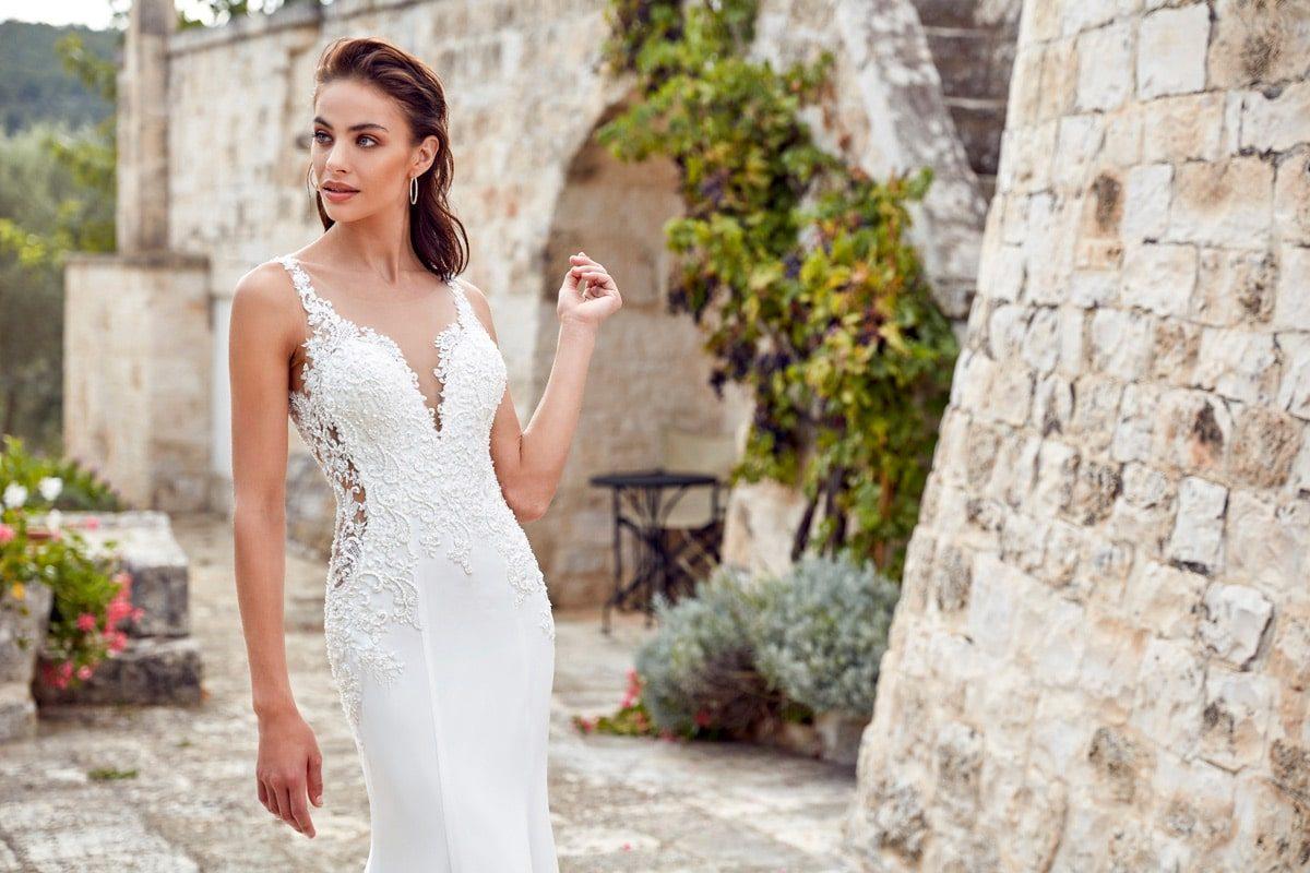 Vestido de novia Isabel marca eddyk sirena