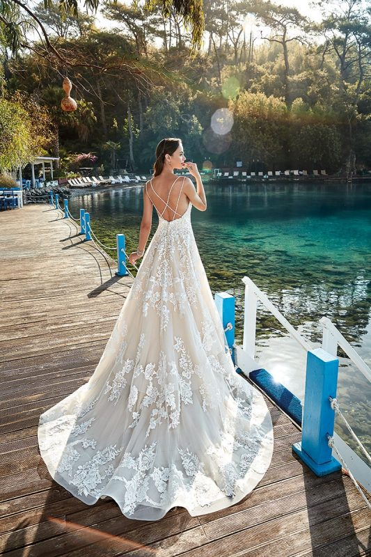 Vestido de novia línea A