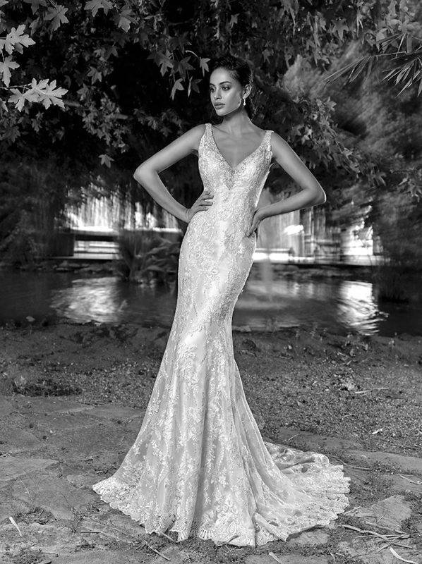 Vestido de novia Palma marca eddyk estilo sirena