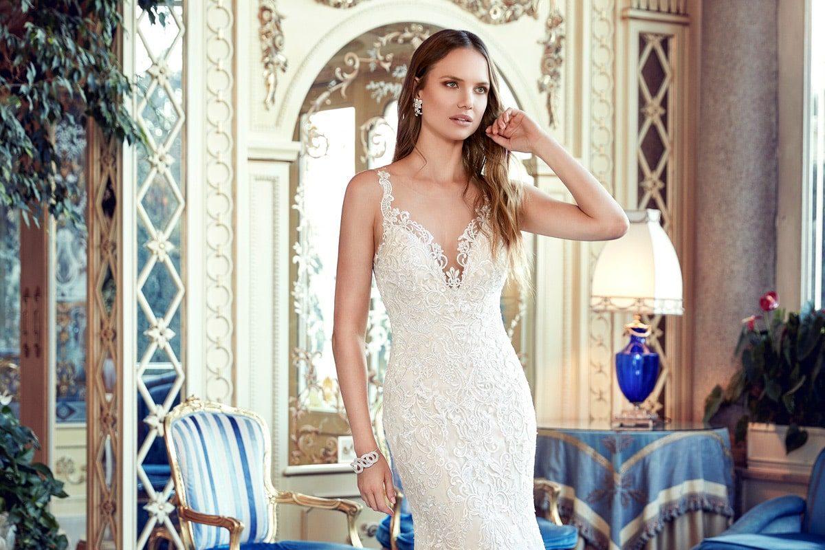 vestido de novia sirena EK1149