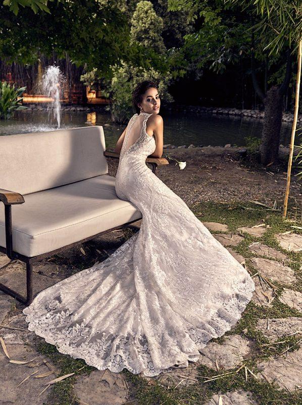 vestido de novia sirena Palma eddyk