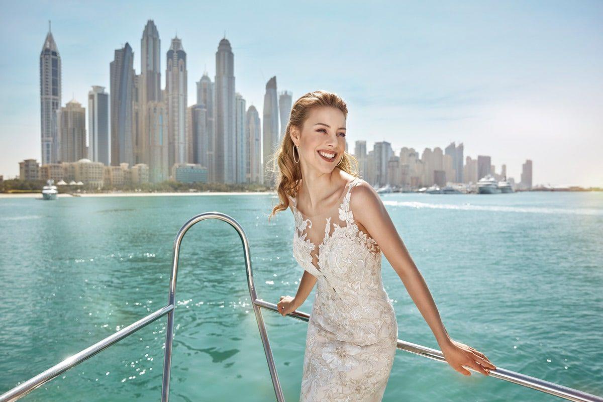 vestido novia estilo sirena marca eddyk