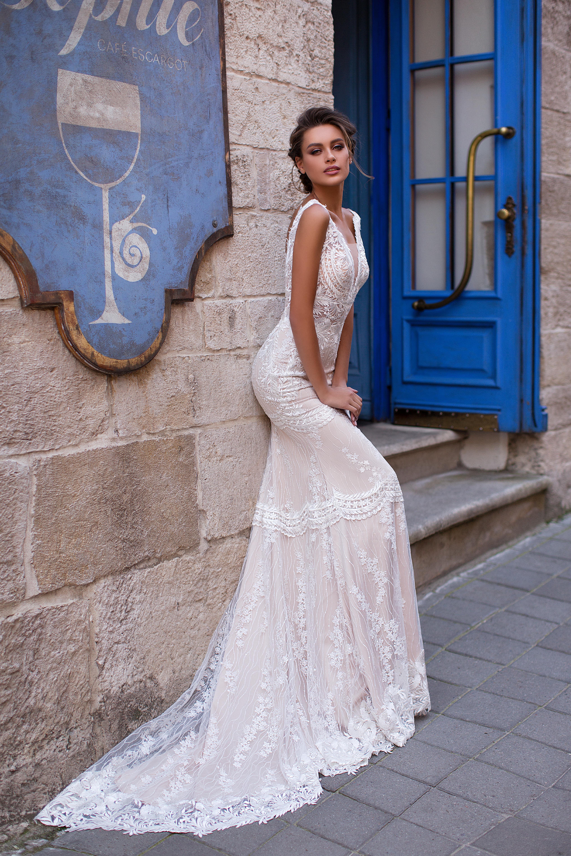 Vestido de Novia Sirena Bourbon
