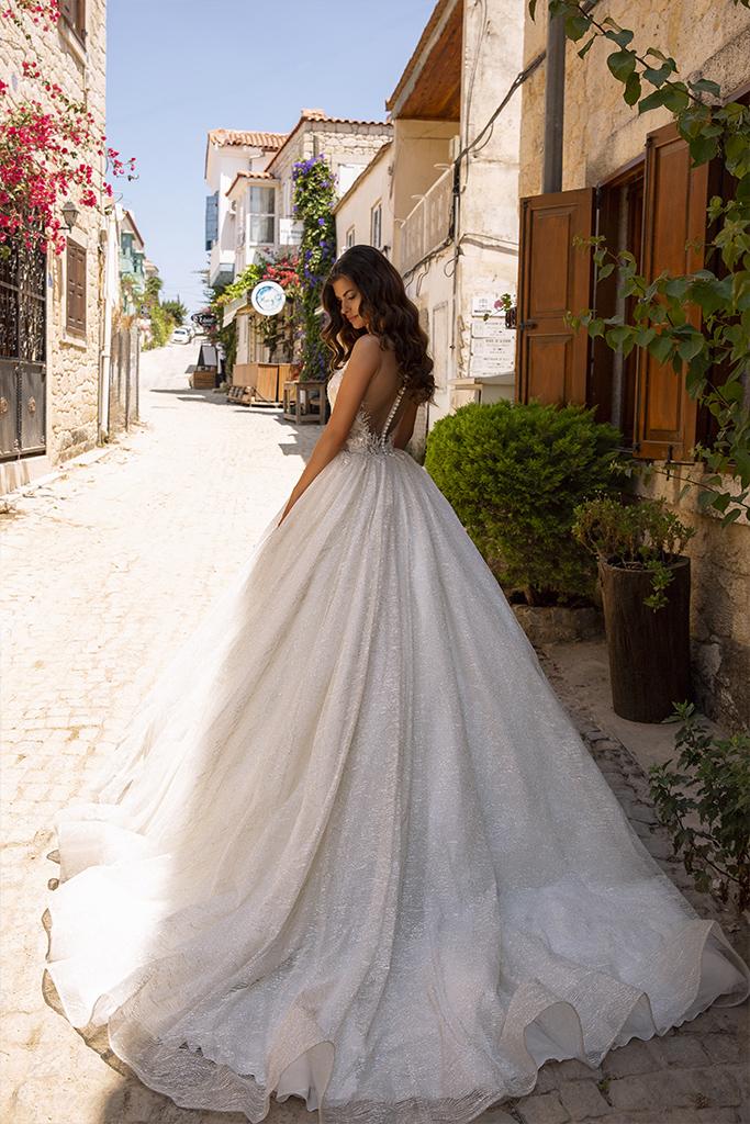 vestido de novia princesa de colección 2020 para alquiler en bogota