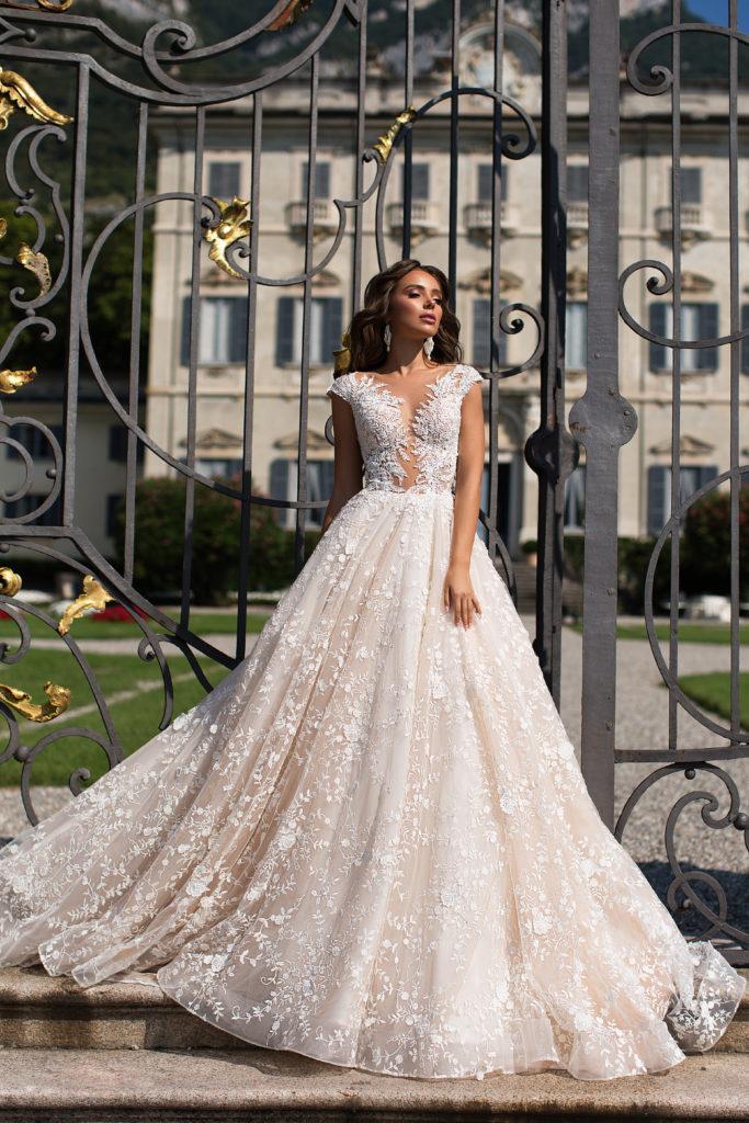vestido de novia princesa disponible para alquiler